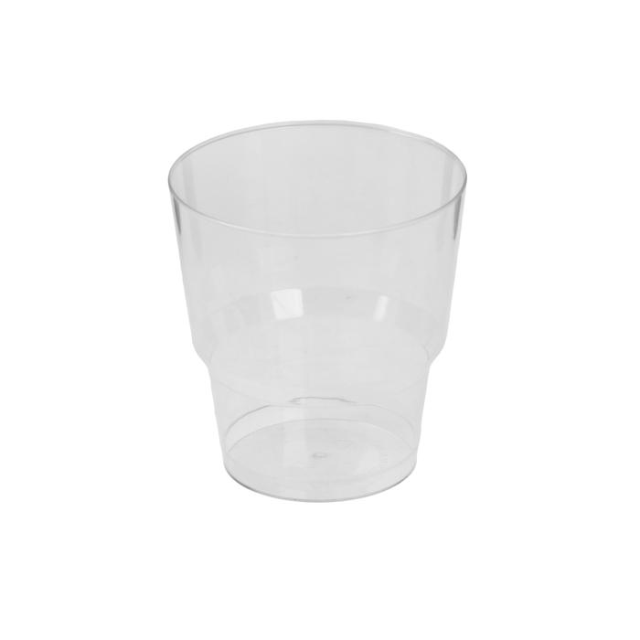 """Стакан для холодных напитков """"Кристалл"""", 200 мл, прозрачный, 50 шт"""