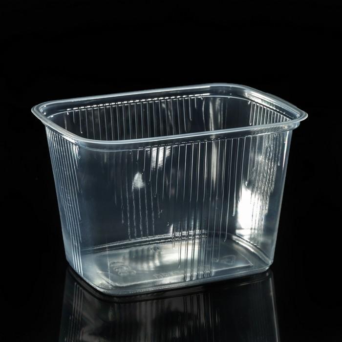 Набор одноразовых контейнеров 350 мл, 10,8х8,2х6,9 см, 100 шт