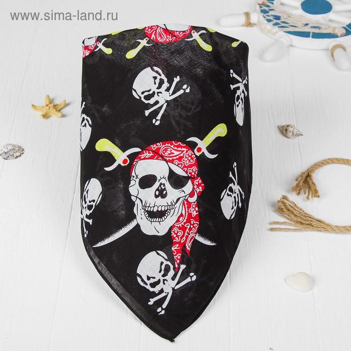 """Бандана череп """"Пираты"""""""