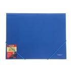 Папка на резинке А4 непрозрачная синяя 0,50мм Proff. Next