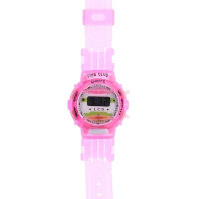 Часы наручные электронные Sport, детские, с силиконовым ремешком, микс