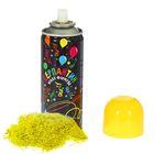 """Спрей """"Серпантин"""", 250 мл, цвет жёлтый"""