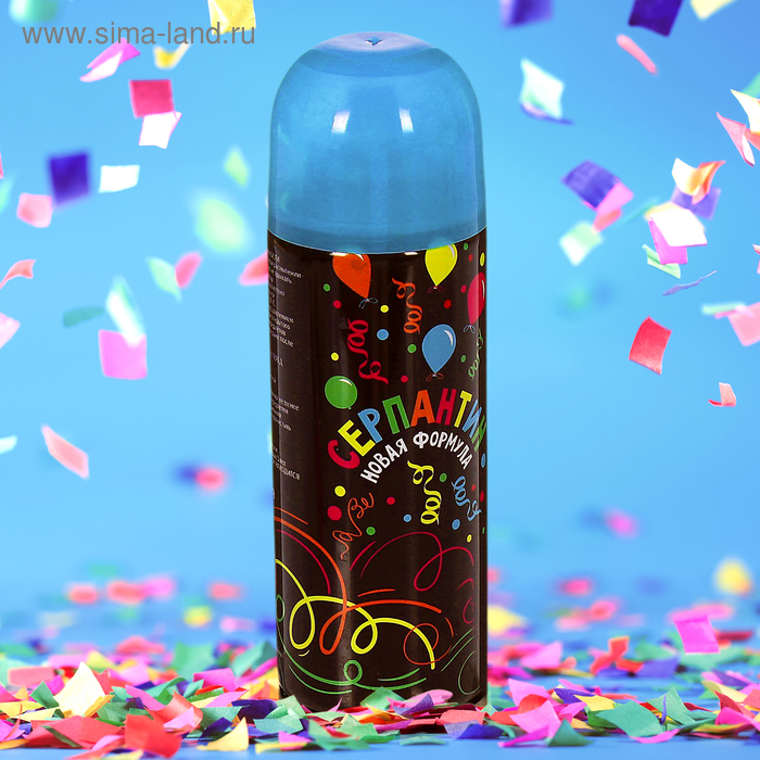 Spray Serpentine, 250 ml, colour blue