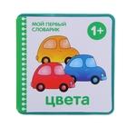 """Мой первый словарик """"Цвета"""" (EVA). Автор: Краснушкина Е.Е."""