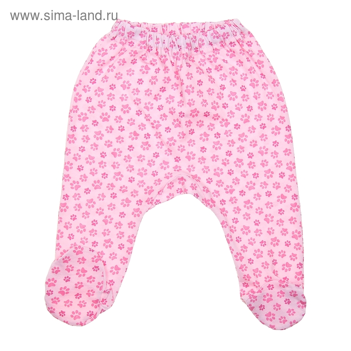 Ползунки, рост 80 см (52), цвет розовый CAN 7205 (01)