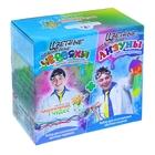 """Набор для опытов """"Юный химик: Цветные червяки и лизуны"""""""