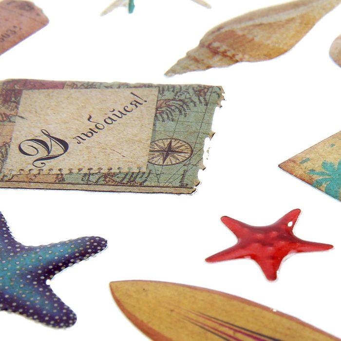 любители сладости набор для создания открыток морской правой