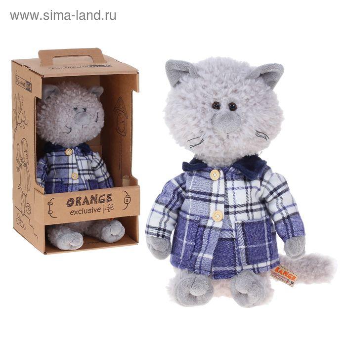 Мягкая игрушка «Кот Обормот в пальто»