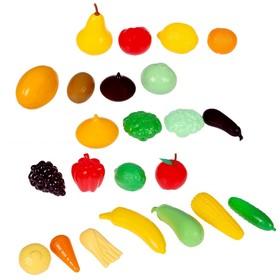 Набор «Большой набор овощи-фрукты», 23 элемента