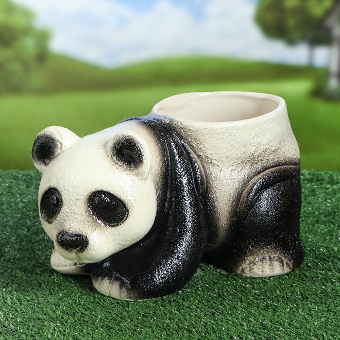 "Фигурное кашпо ""Панда"", 4 л"