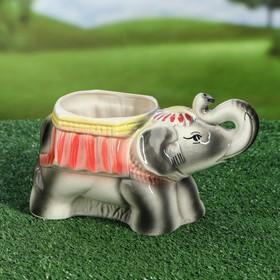 """Фигурное кашпо """"Слон"""", 1.5 л"""