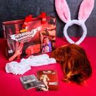 """Секс набор для ролевой игры """"Невинные шалости"""", парик, чулки, уши зайки, ролевые игры"""