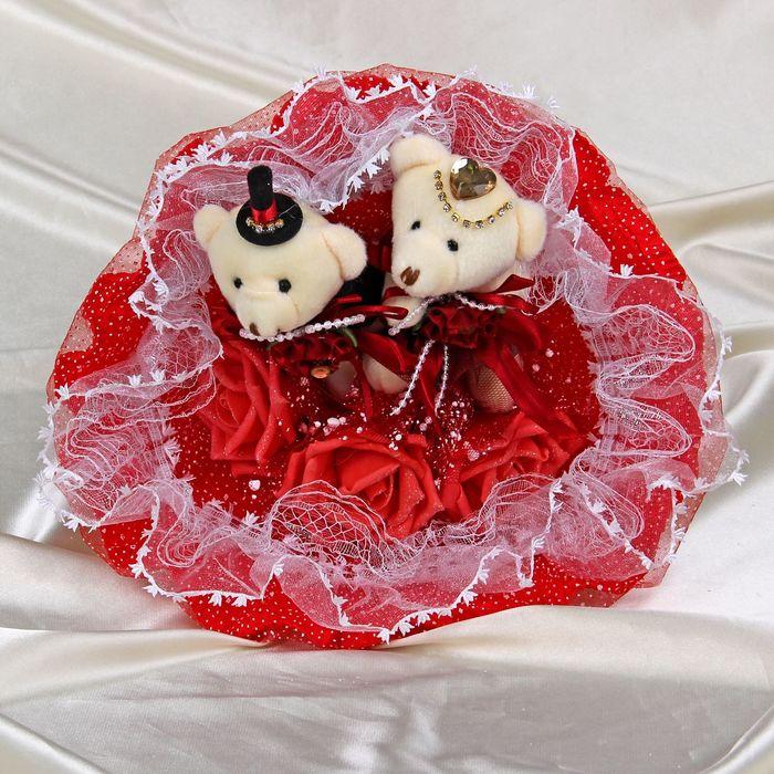 Цветов заказ, букет подарить невесте из игрушек