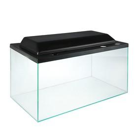 Террариум с крышкой 144 л, толщина стекла 5 мм