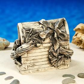 """Декорация для аквариума """"Сундук'', 13 см, микс - фото 7454401"""