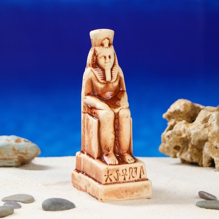 """Декорация для аквариума """"Фараон"""", 5 х 5 х 16 см, микс"""