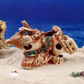 "Декорации для аквариума ""Корабль"" - фото 7392369"