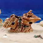 "Декорации для аквариума ""Корабль"" - фото 7392370"