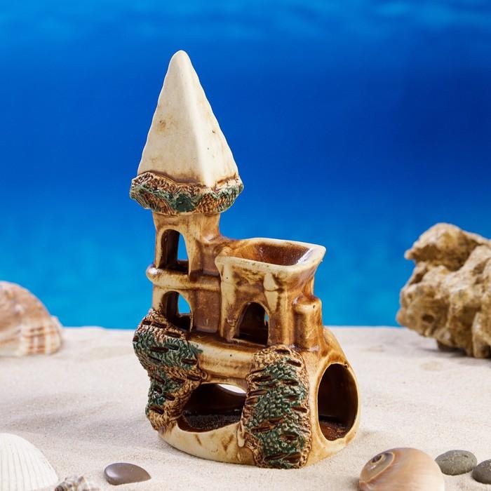 """Декорация для аквариума """"Ласточкино гнездо"""", 8 х 12 х 17 см, микс"""