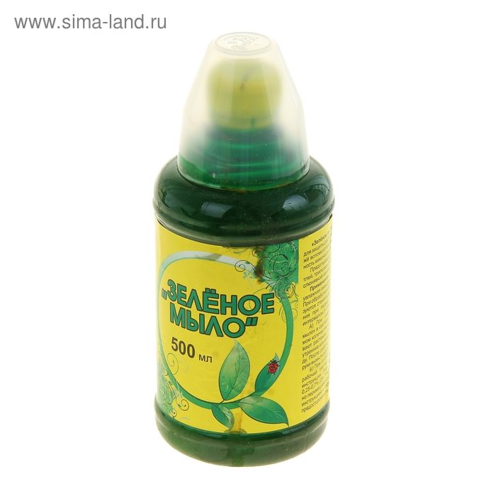 Зеленое мыло Онега для защиты растений от болезней 500 мл