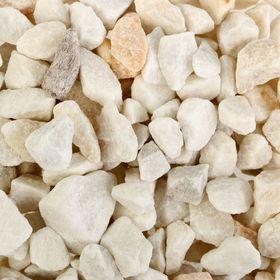 Грунт для аквариума 'Мраморная крошка белая' 5-10 мм, 1 кг 350013 Ош