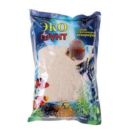 Грунт для аквариума 'Песок кварцевый белый' 0,3-0,9 мм, 1 кг 520010 Ош