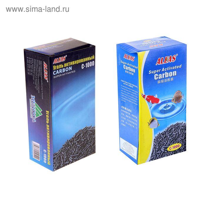 Наполнитель для фильтра Aleas активированный уголь 1000 гр