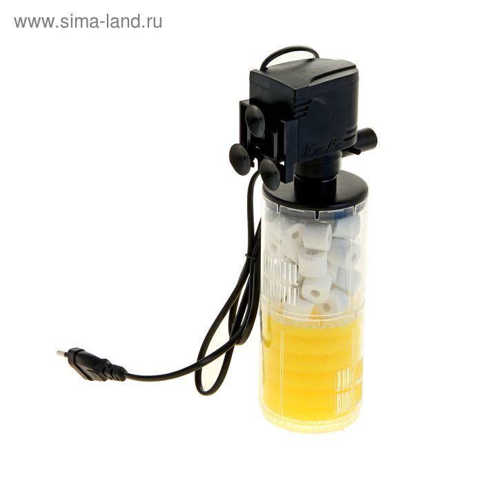 Фильтр аквариумный внутренний камерный Sea Star с бионаполнителем 18W 1300 л/ч HX-1280F