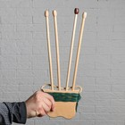 """Сувенир деревянный """"Арбалет со стрелами"""", 65 см, микс"""