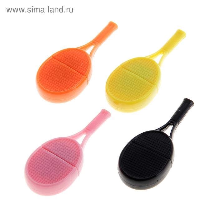 """Картридер мини, для Micro-SD, маленький, """"Теннис"""", МИКС"""