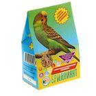 """Корм """"Бриллиант"""" для попугаев, с растительно-минеральными добавкамии, 400 г"""