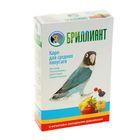 """Корм для средних попугаев """"БРИЛЛИАНТ Classic New"""" с фруктово-овощными добавами, 500 г"""