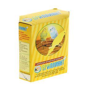 Корм 'Бриллиант' для попугаев, с растительно-минеральными добавками, 500 г Ош