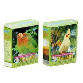 "Корм ""Бриллиант"" для средних попугаев, с фруктово-овощными добавками, 500 г"