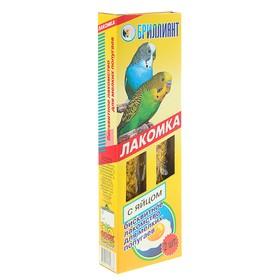 """Лакомка """"Бриллиант"""" для птиц, яичный бисквит, 2 шт, 60 г"""