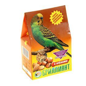 Корм 'Бриллиант' для попугаев, с орехами, 400 г Ош