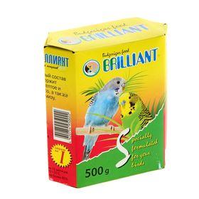 Корм 'Бриллиант' для попугаев, с йодом, 500 г Ош