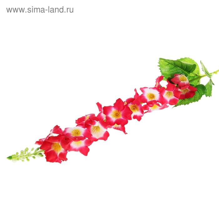 """Цветок искусственный """"Энотера бело-красная"""""""
