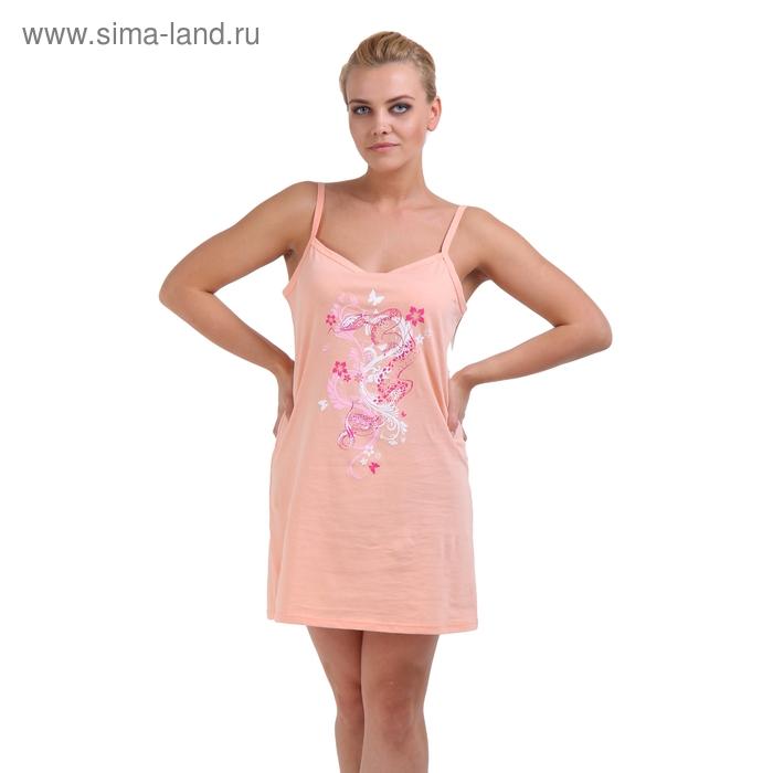 Сорочка женская, размер 44, цвет микс 244ХГ496П