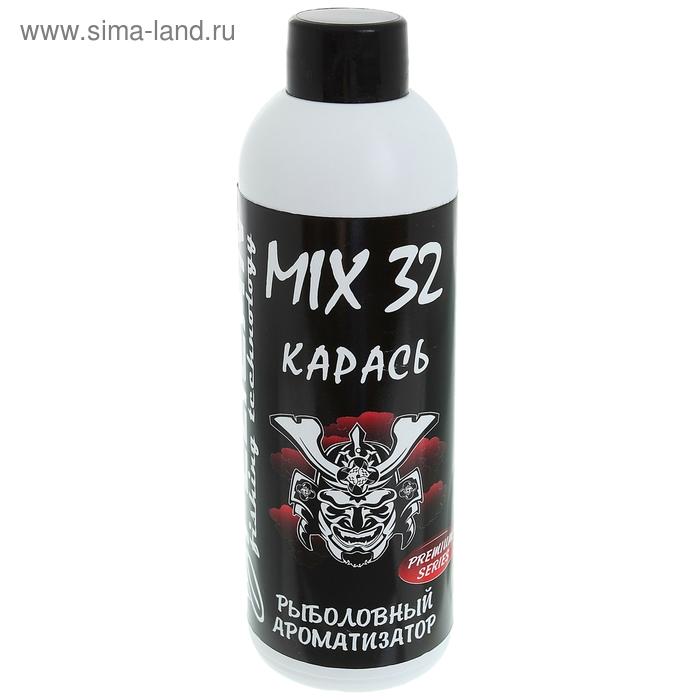 """Ароматизатор для прикормки Pelican Mix 32 """"Карась"""" (1 фл. - 200 мл.)"""