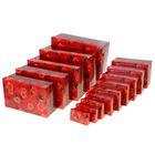 """Набор подарочных коробок 14 в1 """"Розы"""", 46,6 х35,2 х17,5 см 836838"""