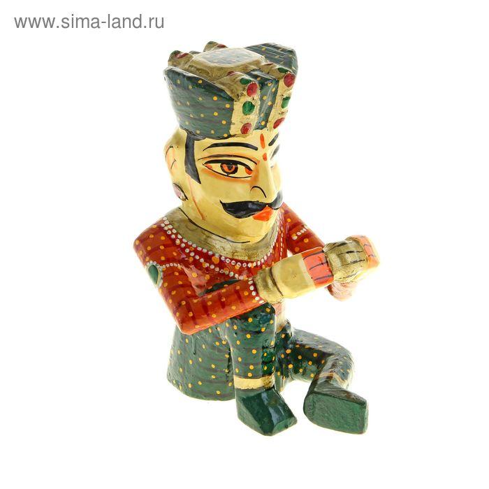 "Статуэтка ""Индийский музыкант"""