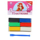 """Пластилин 6 цветов 120 г Disney """"Королевские питомцы"""""""
