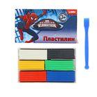 "Пластилин 6 цветов 120 г Marvel ""Человек-паук"""