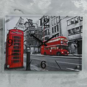 """Часы настенные, серия: Город, """"Лондон"""", 40х56  см, микс"""