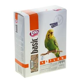 Корм полнорационный LoLo Pets для волнистых попугаев, 1 кг.