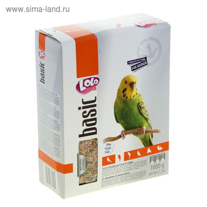 Корм для волнистых попугаев LoLo Pets полнорационный 1 кг