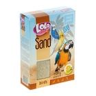 Песок для птиц LoLo Pets лимонный 1,5 кг