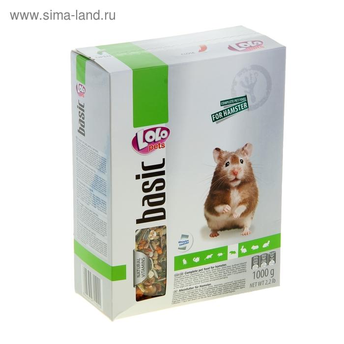 Корм для хомяков LoLo Pets полнорационный, 1 кг