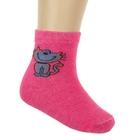 Носки для девочки S-63, цвет розовый, размер 20-22